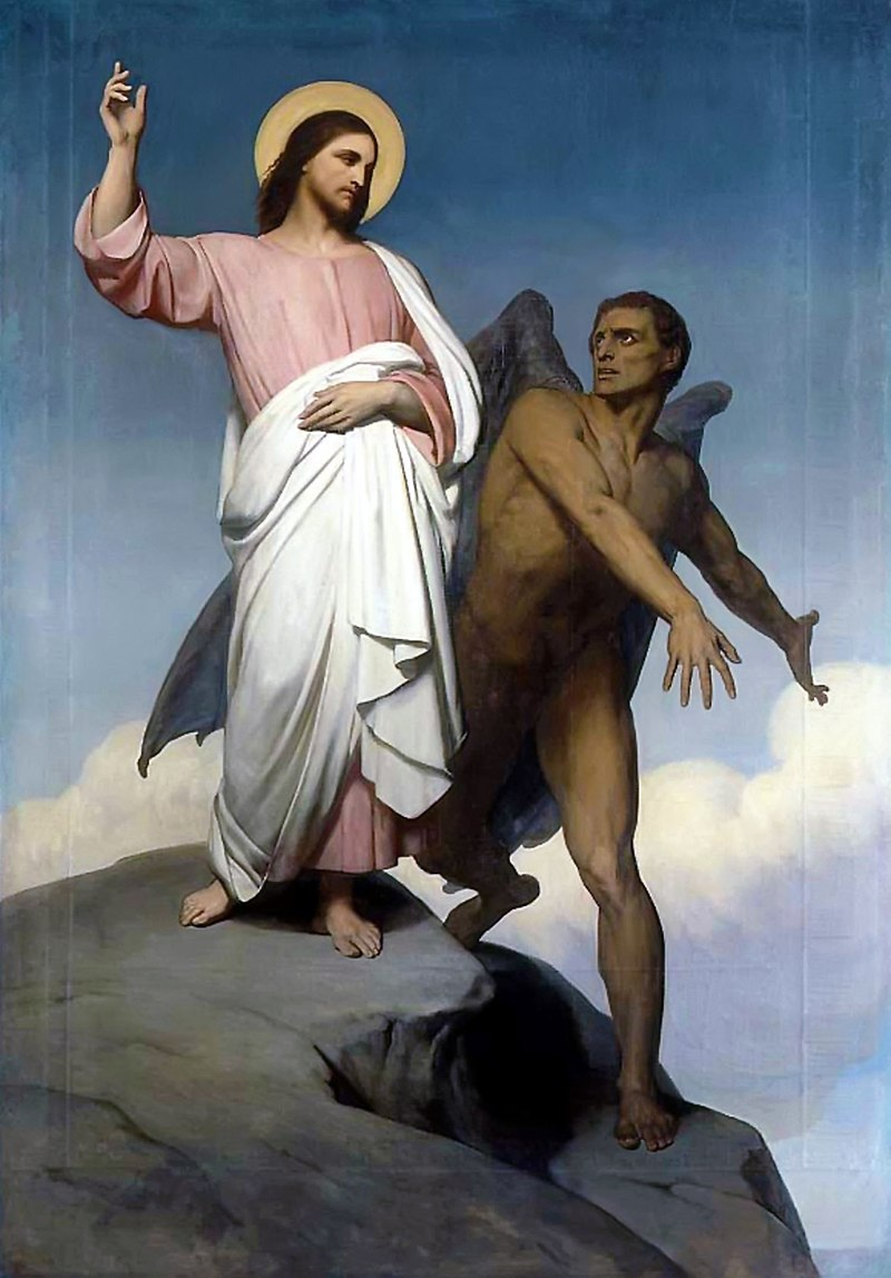 800px Ary Scheffer The Temptation of Christ 1854